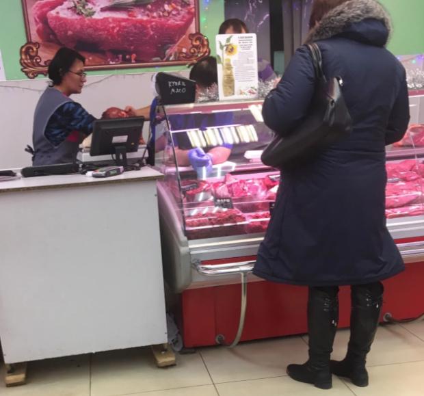 Проверять качество мясо