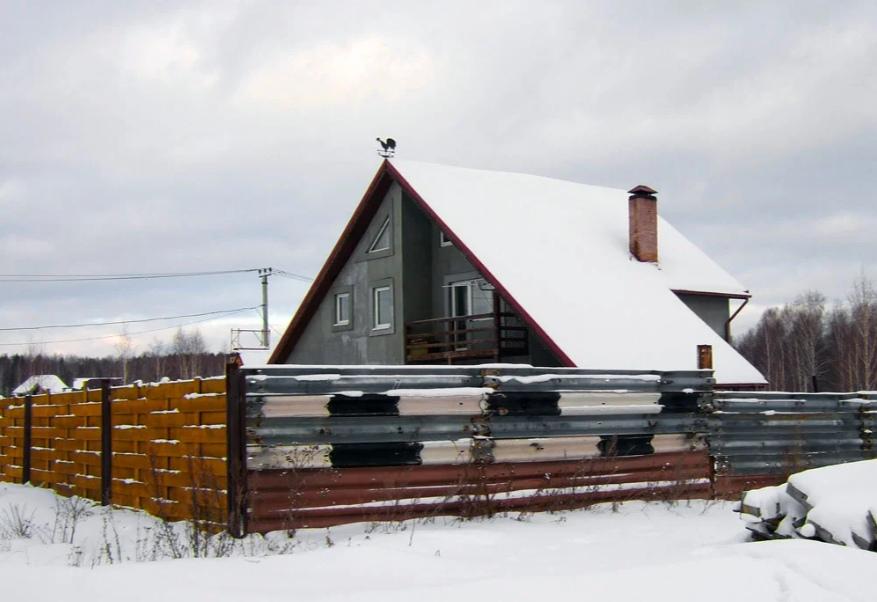 Дом из пенопласта и бетона