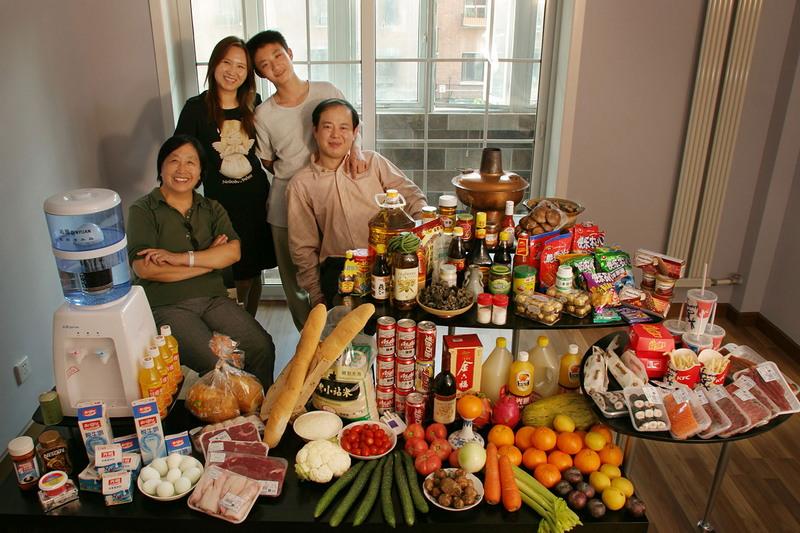 Поддельные продукты питания из Китая