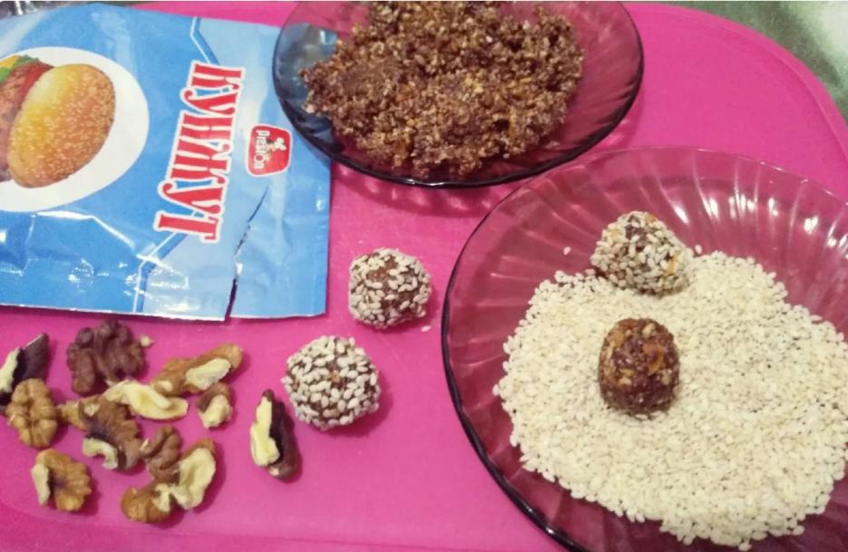 Конфеты из арахиса