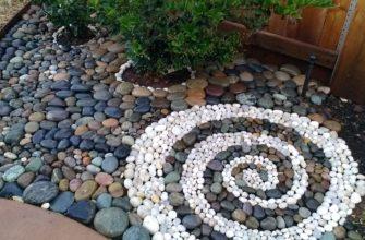 Камни для украшения участка