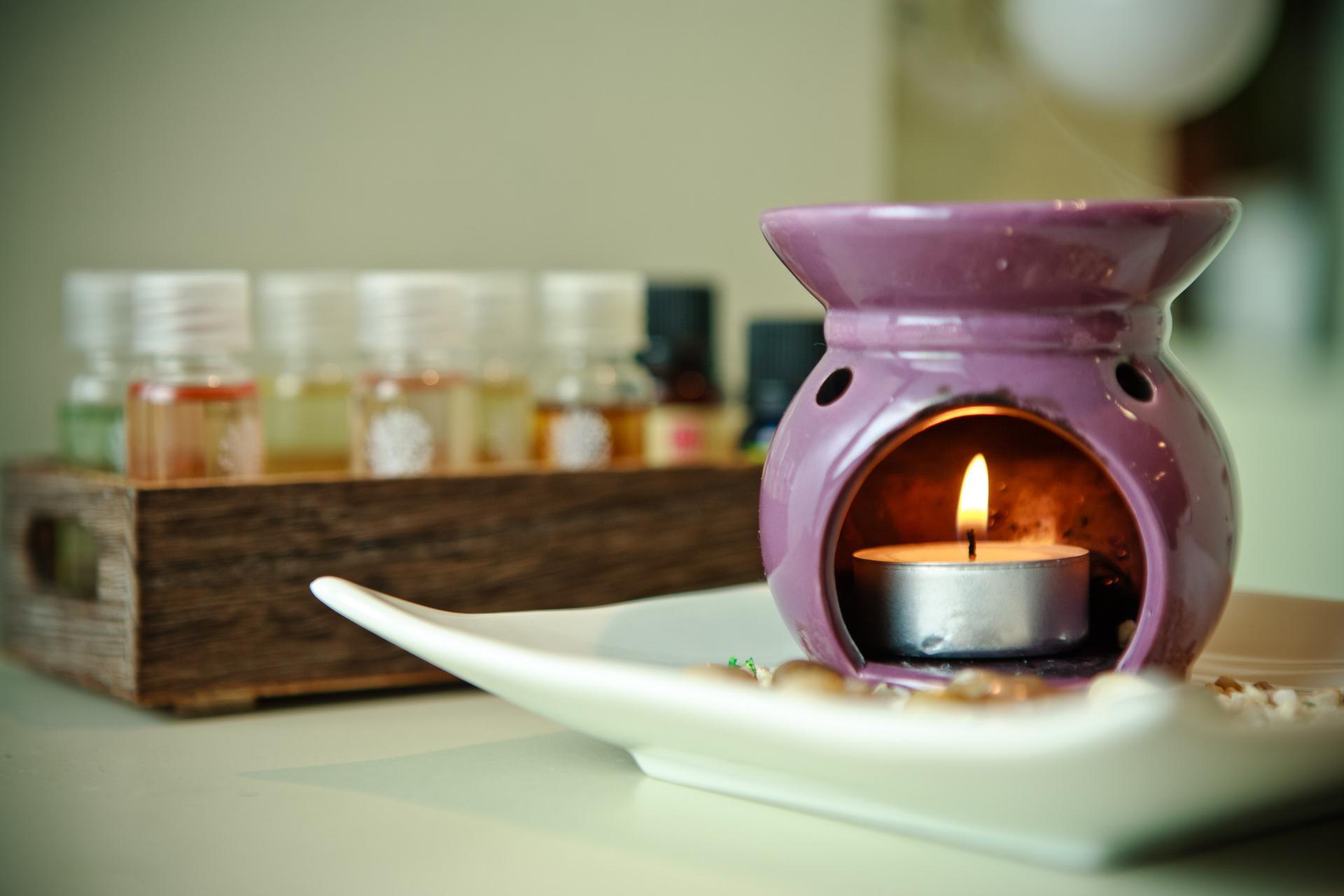 Ароматерапия с маслом лаванды