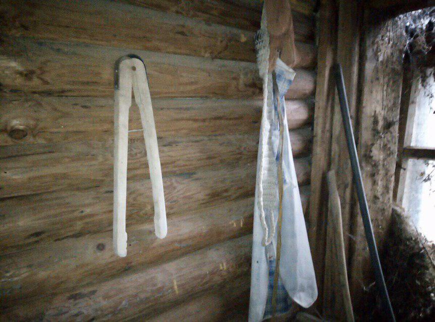 Настоящая деревенская баня