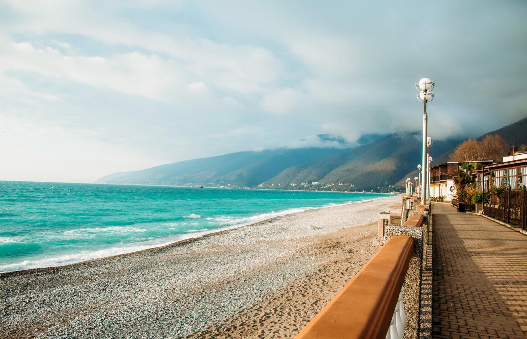 Море и природа в Абхазии