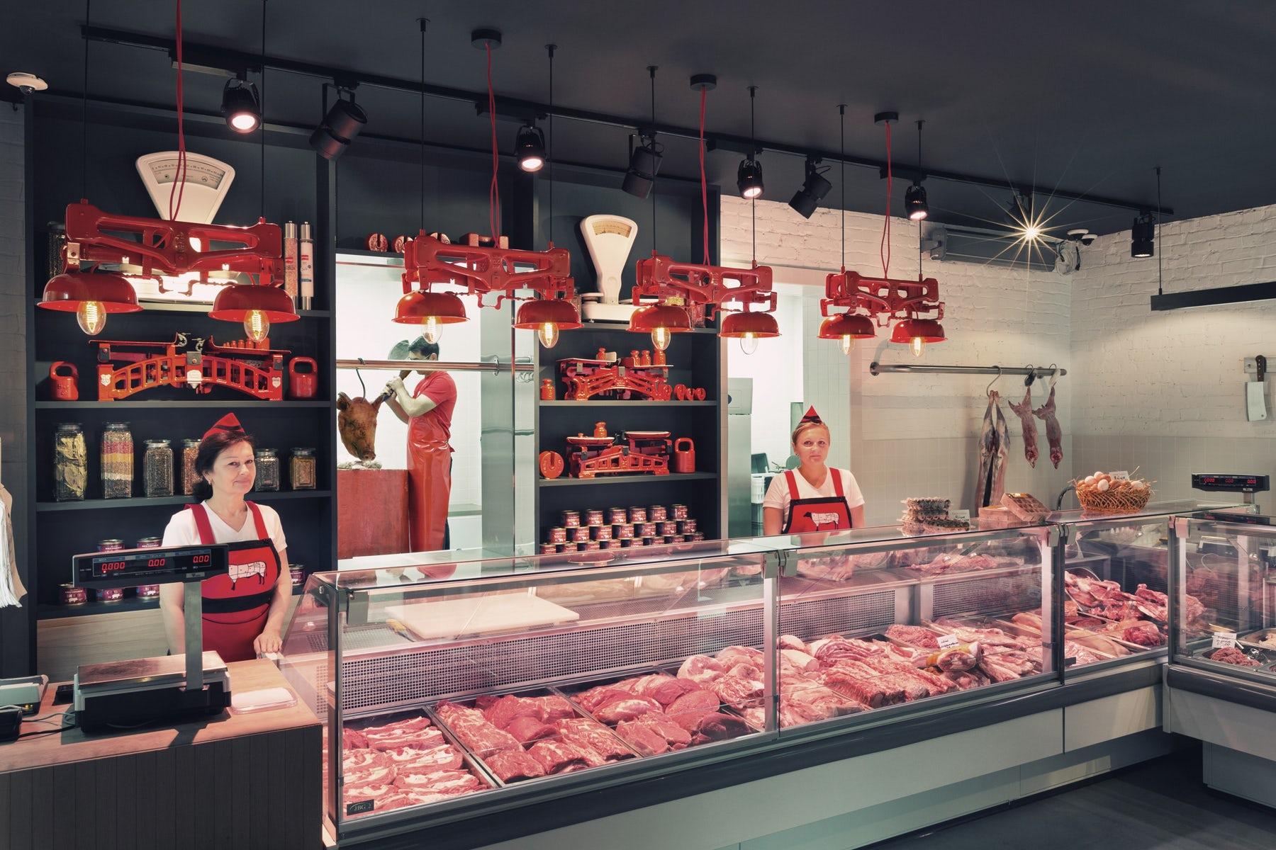 лично картинка для мясного магазина предлагаю несколько примеров