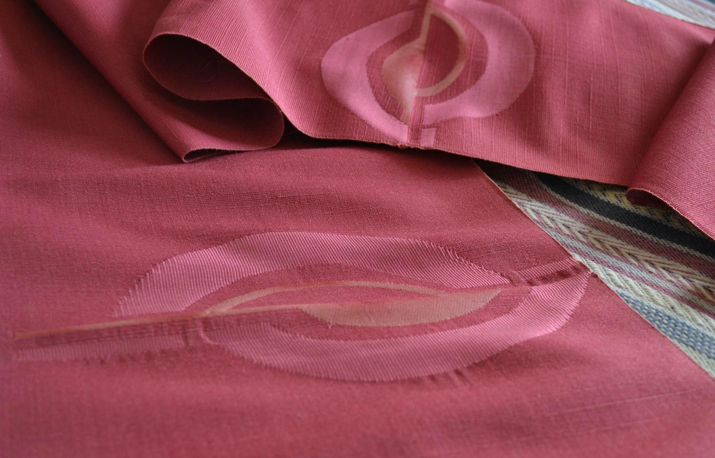 Шёлковый эпонж ткань
