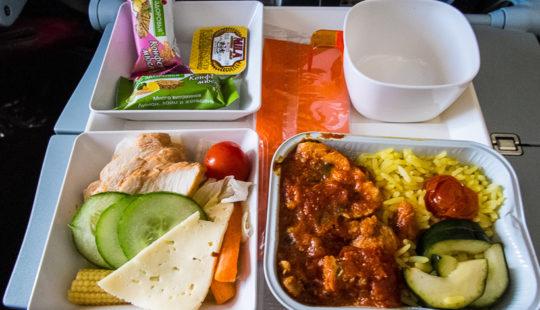 пища с самолете