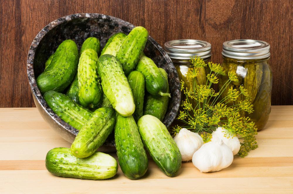 Огурчики для засолки и салатов