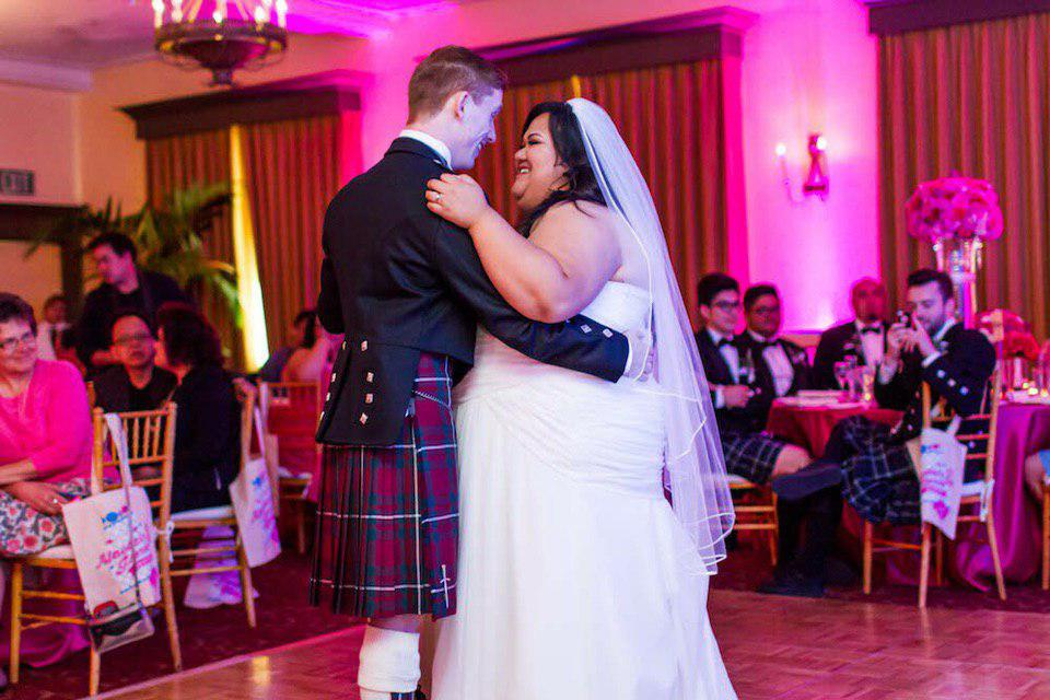 свадьба толстушка и красавчик