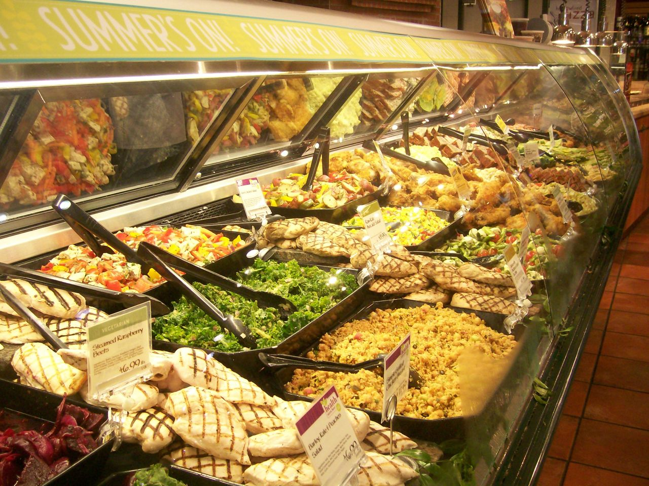 Готовая еда в супермаркетах