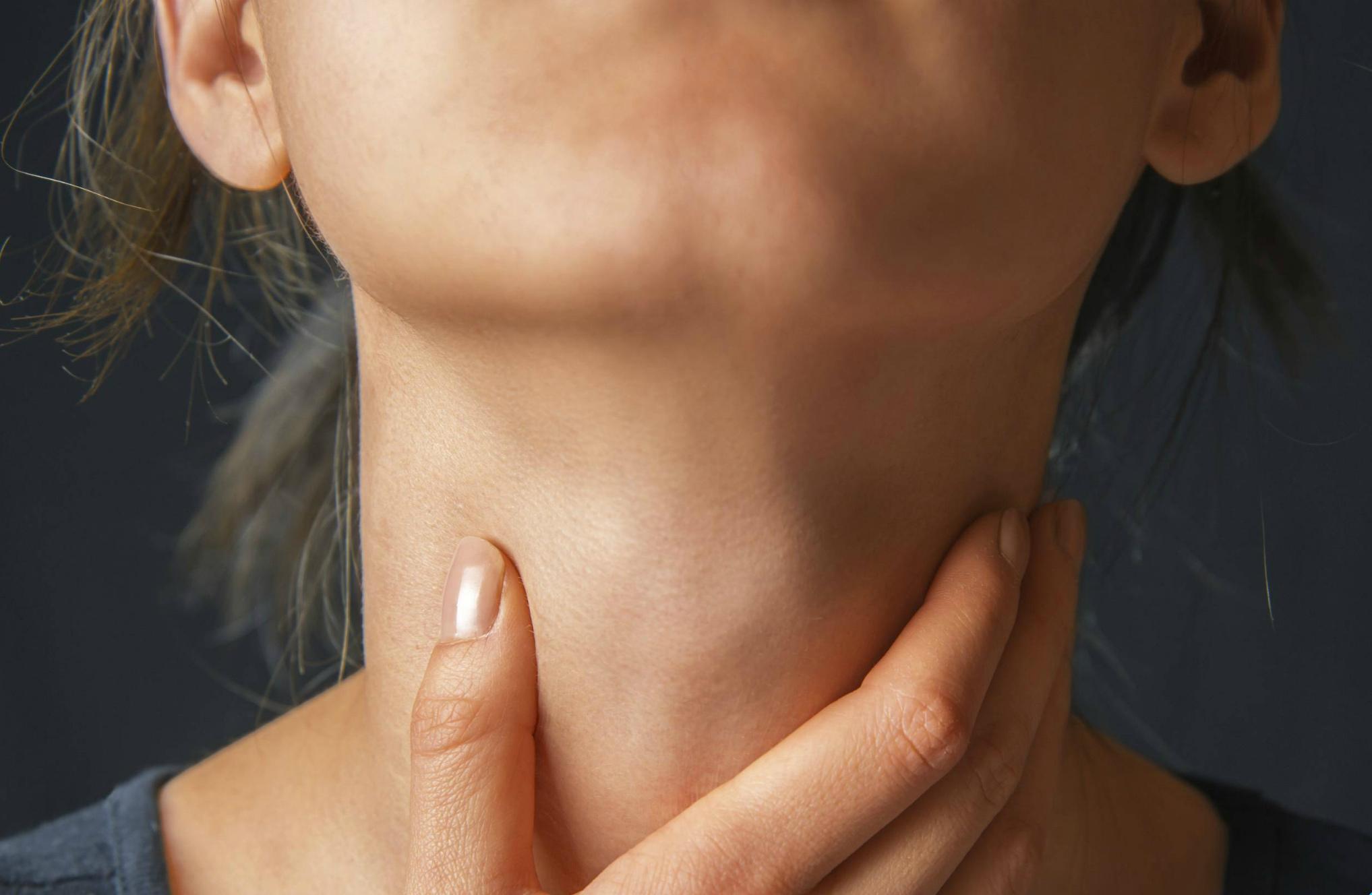 Уувеличеная щитовидная железа