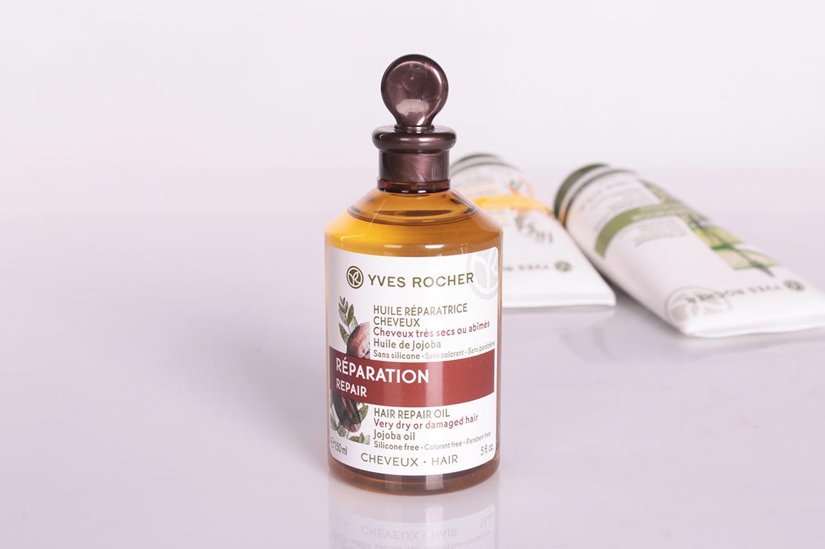 Масло YvesRocher для волос