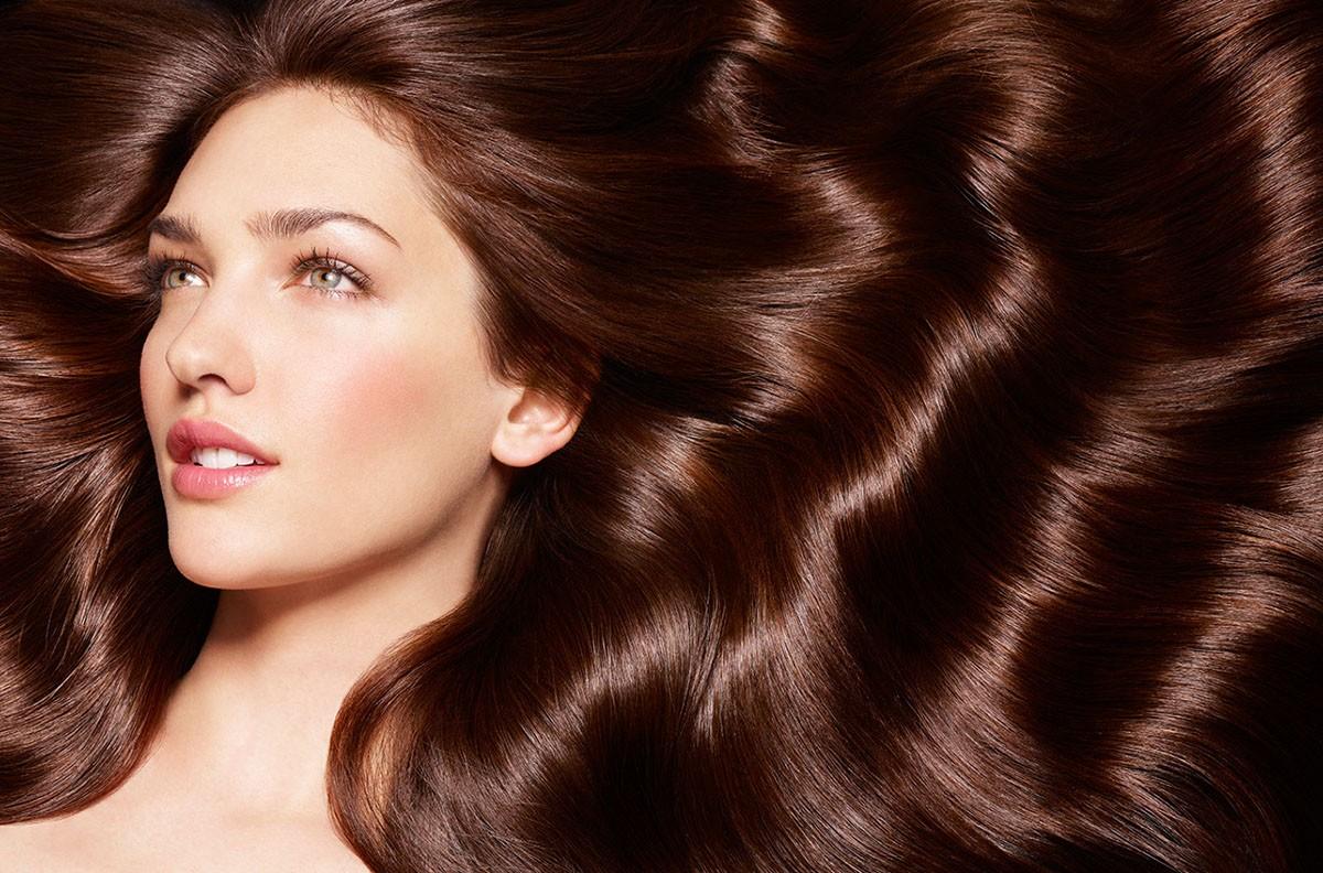 Приданииблеска волосам