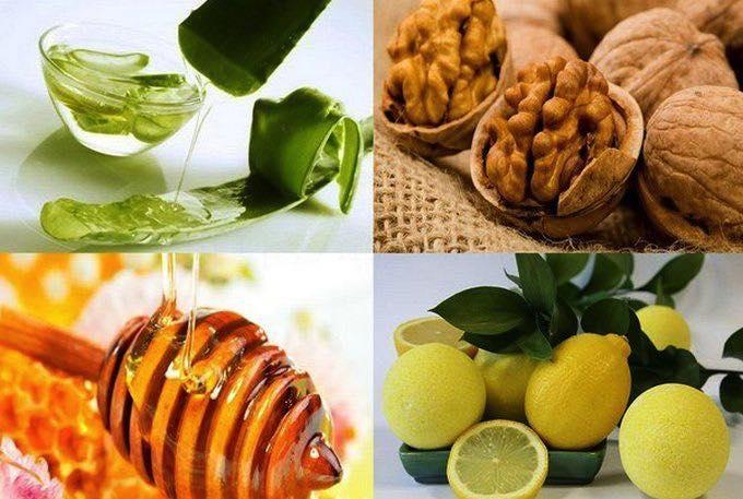 Грецкий орех и мёд