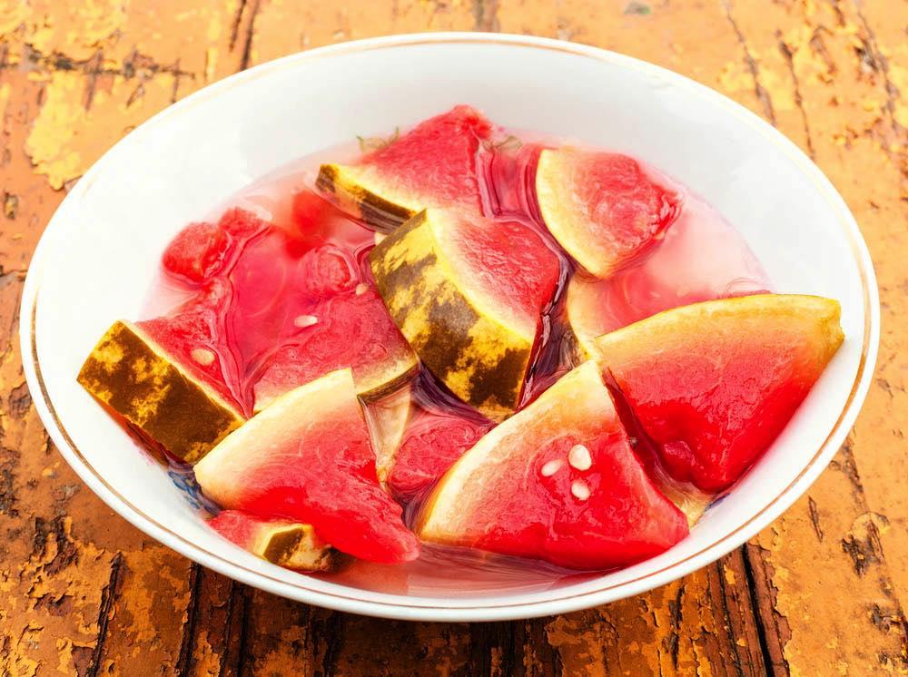 Солёный арбуз